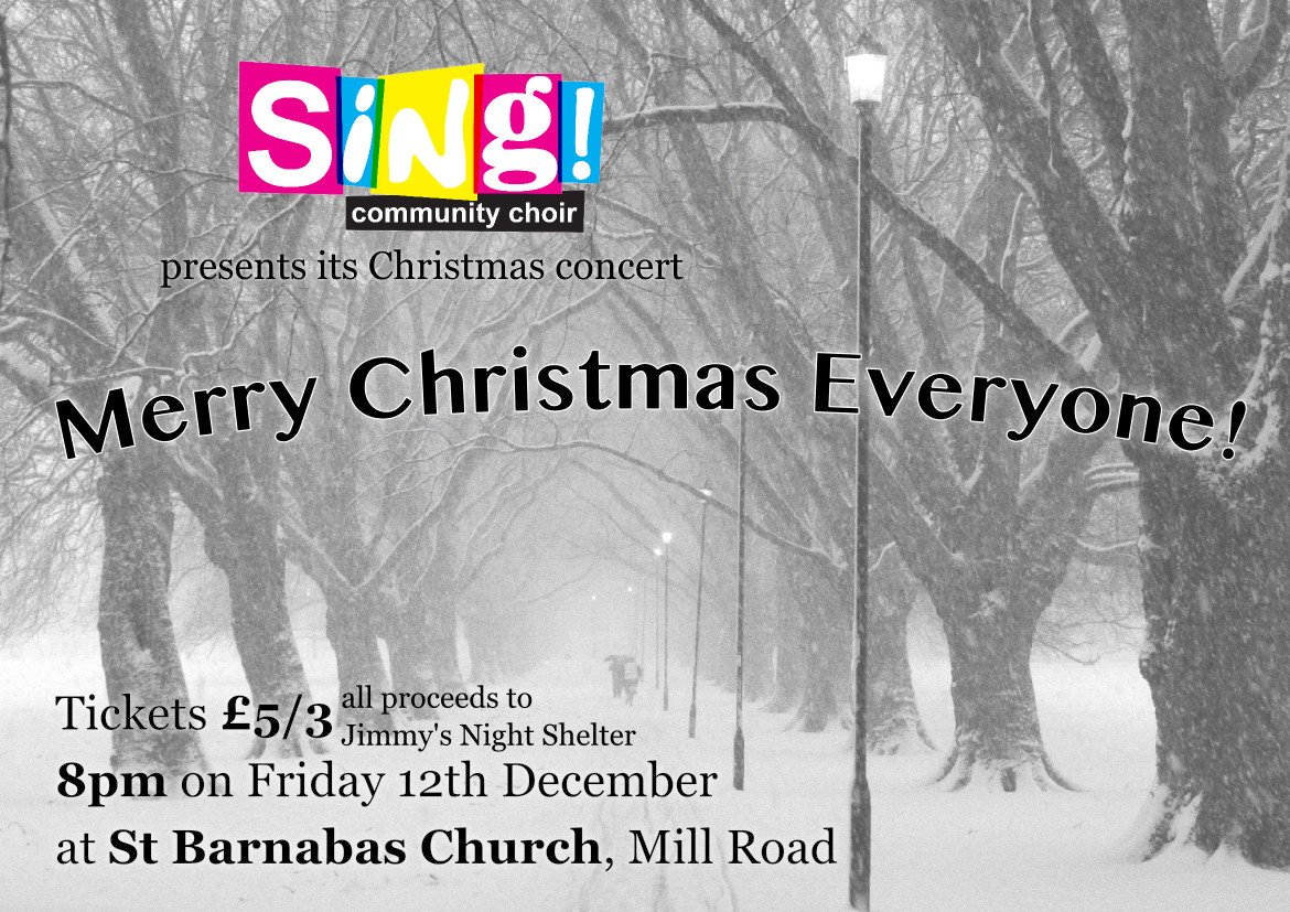 sing 2014 poster email